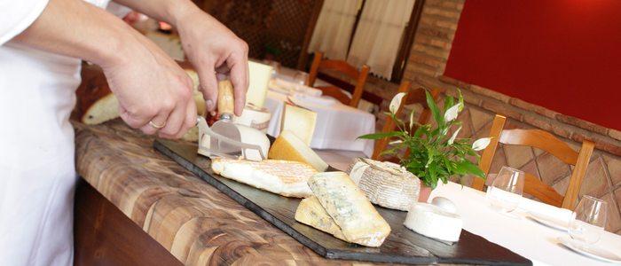 corte del queso